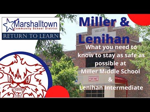 MCSD Return to Learn series - Miller Middle School and Lenihan Intermediate School