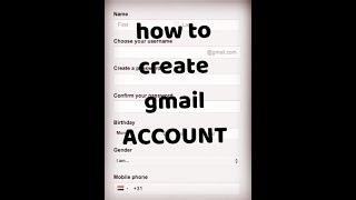 wie erstellen Sie g-mail-Konto