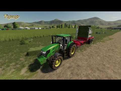 Farming Simulator 19 - How do they work, Gras, Straw bales technology