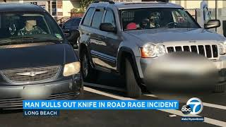 Gambar cover Knife-wielding man allegedly involved in Long Beach road rage incident | ABC7