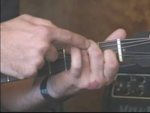 The CAGED Chord Guitar Method Basics : How to play a C Chord on ...