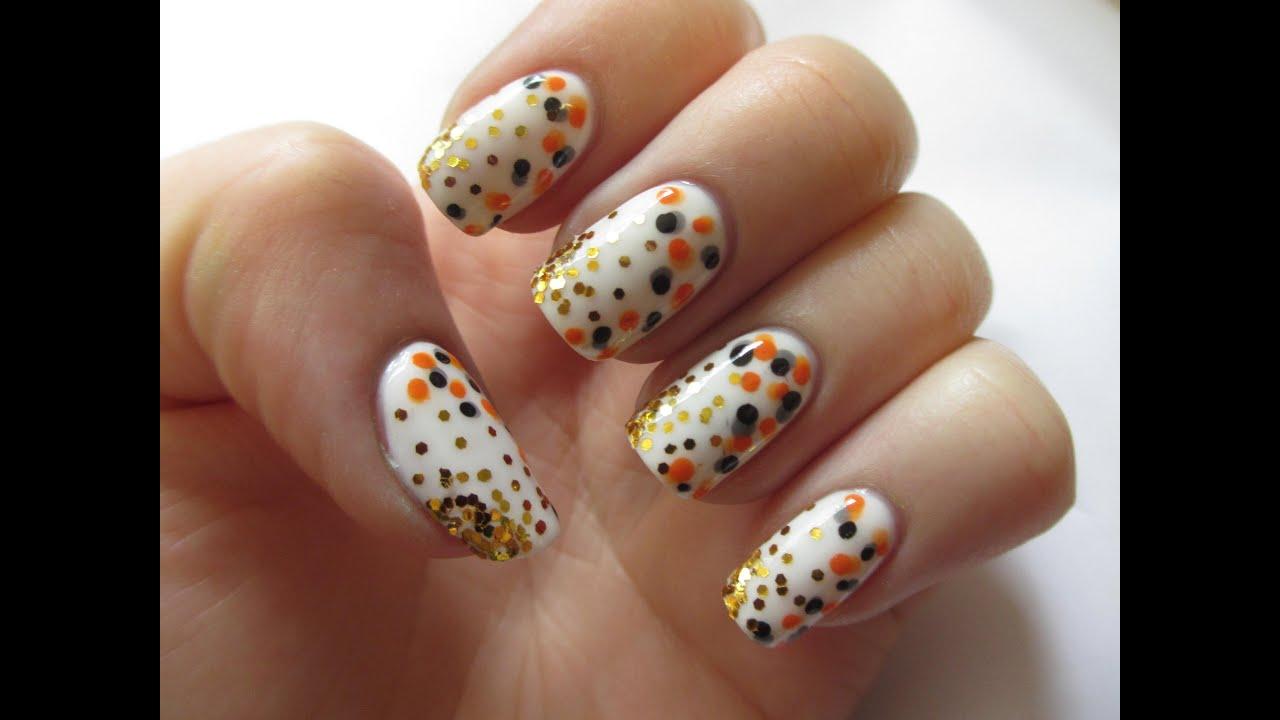 Koi Fish Inspired Nail Art Tutorial