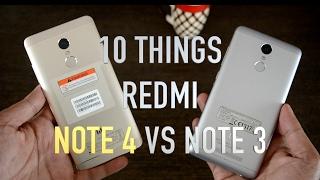 Xiaomi Redmi Note 4 Vs Redmi Note 3 Comparision | hardware, software,UI and build quality comparison