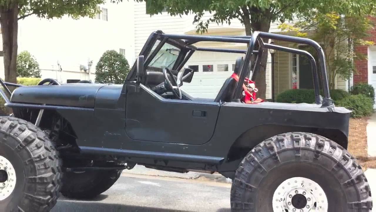 Ghost Riding The Rock Crawler Jeep Youtube