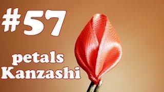 Лепесток канзаши из ленты 2,5 см / Все лепестки Канзаши #57(Меня зовут Настя, и я рада приветствовать вас на своем канале, на котором представлены мастер класс по канза..., 2014-05-13T11:44:06.000Z)