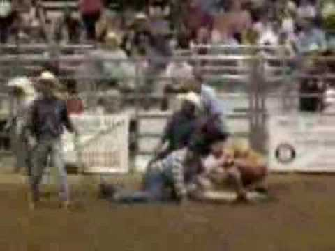 Taylor Texas Rodeo Bull Riding Accident 2007 Youtube