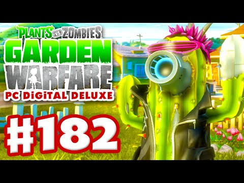 Plants vs. Zombies: Garden Warfare - Gameplay Walkthrough Part 182 - Future Cactus Pro (PC)