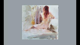 Nude Model Etude