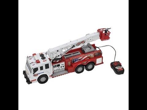 21 Inch Remote Fast Control Fire Lane Truck Toy b7v6fgymIY