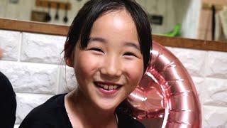 9歳おめでとう!稚奈!