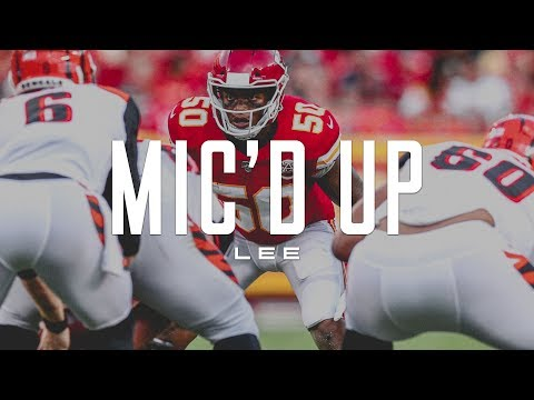 Darron Lee Mic'd Up During the Chiefs Preseason Matchup against the Cincinnati Bengals