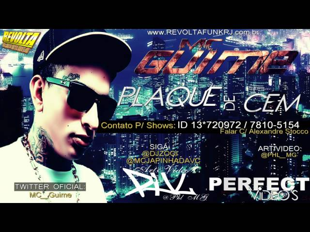MC GUIME - PLAQUE DE 100 (DJ BIEL ROX) - LANÇAMENTO 2012 Travel Video