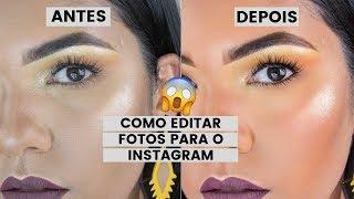 💥Como editar fotos de maquiagem para o Instagram💥 Segredos e dicas