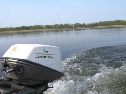 1967 johnson 6hp outboard motor youtube for How to service johnson outboard motor