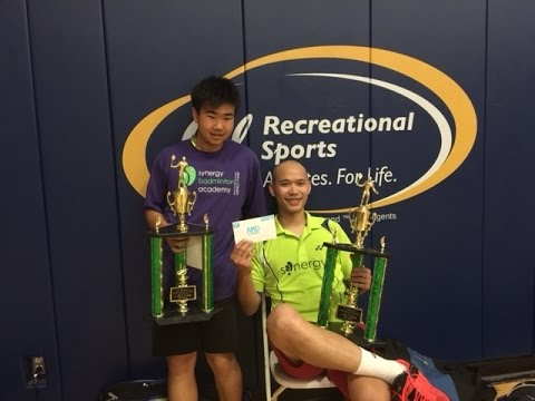 2016 UC Berkeley Badminton Bob and Winston, AMD QF/SF/Final