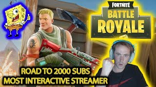🔴 FORTNITE BATTLE ROYALE WINTER UPDATE - CHRISTMAS GIVEAWAY 🔴 #1 MOST INTERACTIVE STREAMER 🔴