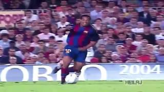 Ronaldinho's first and last goals with Barcelona