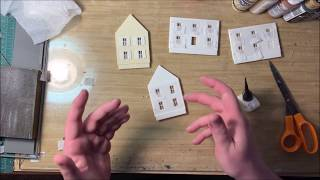HO Kit Building With Ryan (Part 5) - Window Curtains