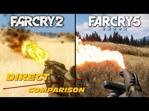 Far Cry 2 vs Far Cry 5 | Direct Comparison