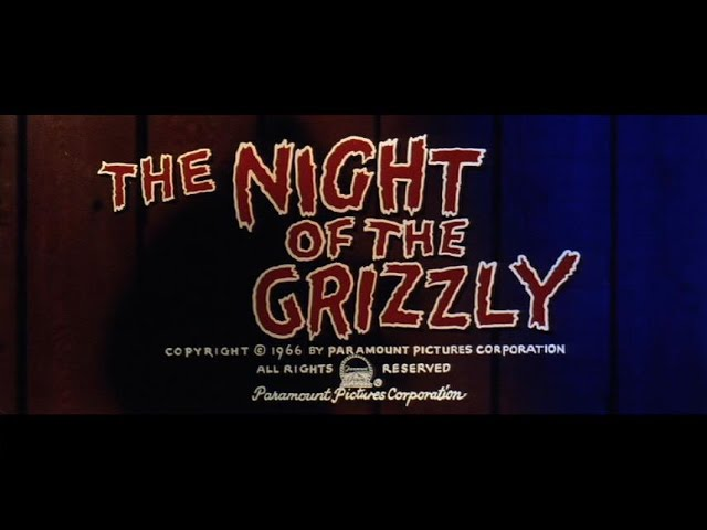 50th Anniversary Tribute to Night of the Grizzly