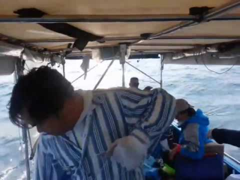 How to fishing: Giant Groupers with handlines in Offshore Hong Kong ボート釣り