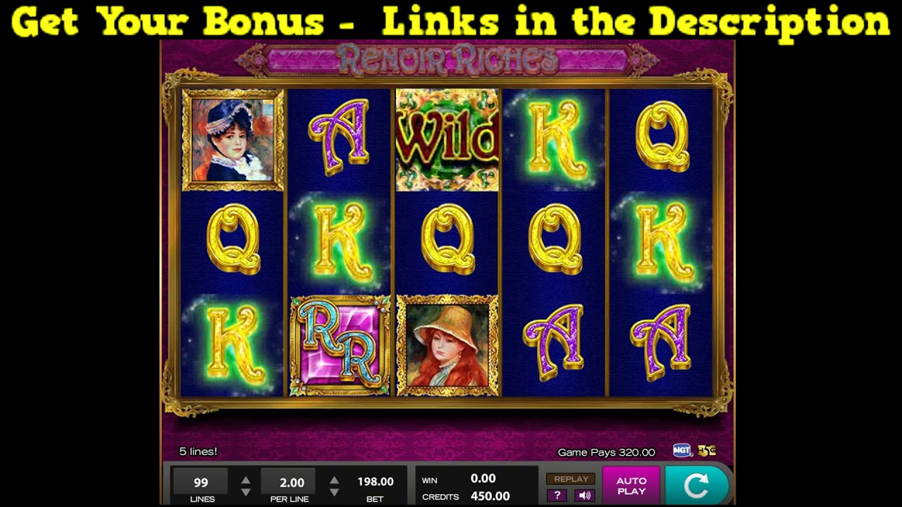 Renoir Riches Slots Free Play & Real Money Casinos