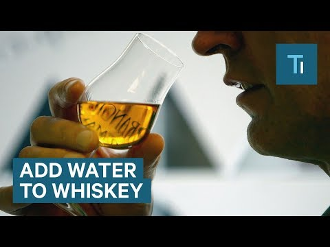 wine article The science of why you should water down your whiskey