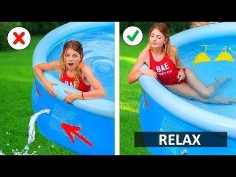 Easy Girls Hacks! Summer DIY Make Your Life Easier