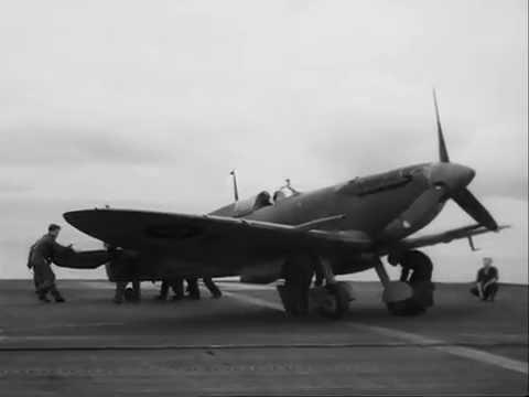 Seafire deck operations: Royal Navy, circa 1943