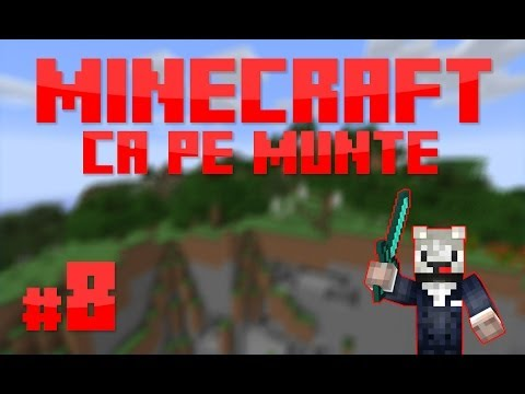 [RO] S1E8 | Minecraft Ca pe munte | Construim in sat!