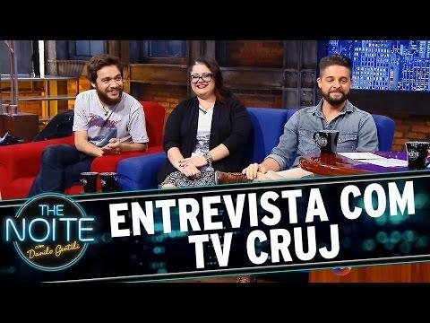 The Noite (12/10/15) - Entrevista Com Elenco TV Cruj