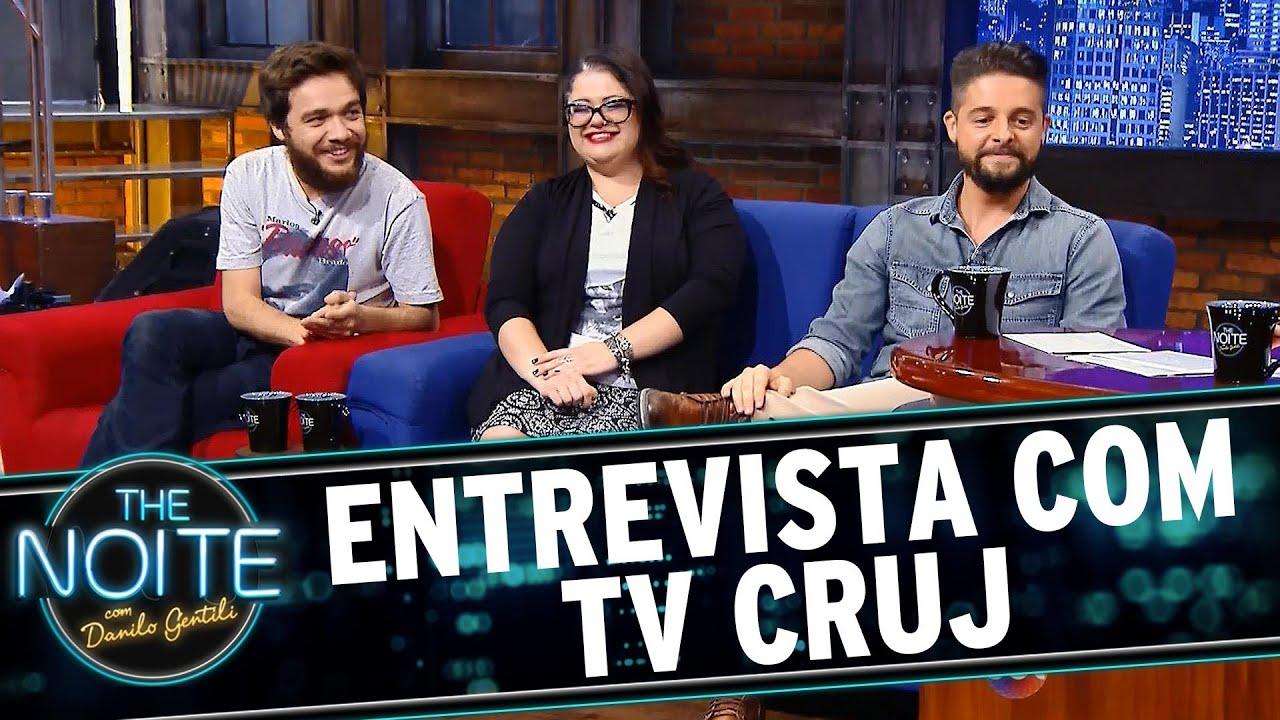 The Noite 121015 Entrevista Com Elenco Tv Cruj Youtube