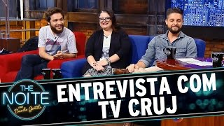 The Noite (12/10/15) - Entrevista com elenco TV Cruj
