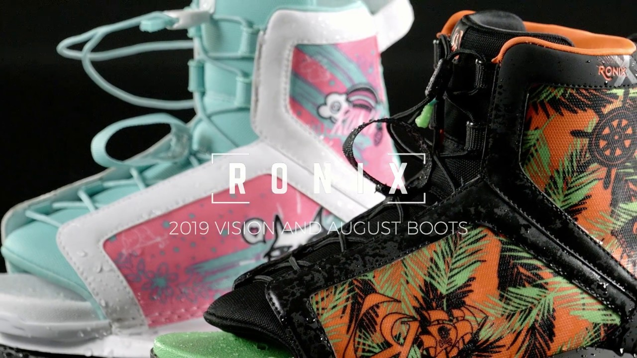 2019 Ronix Vision and August Boots