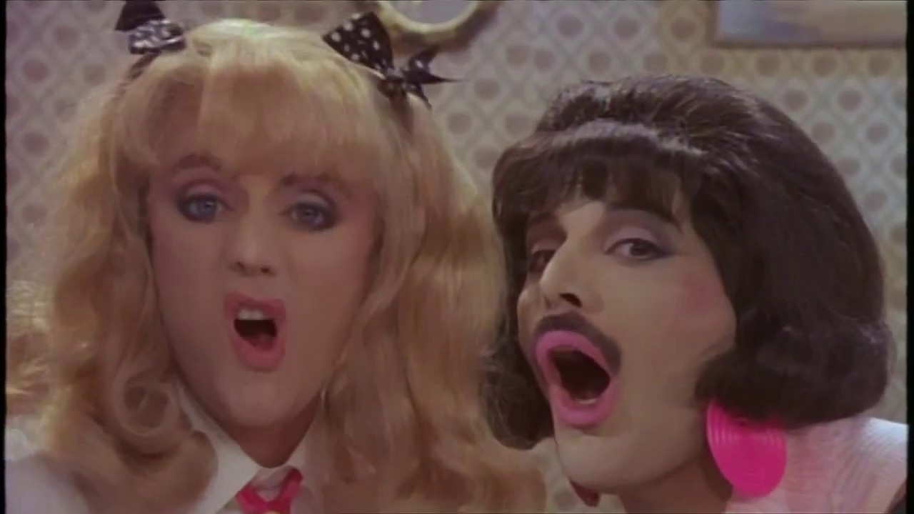 queen i want to break free music video