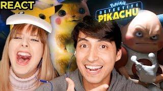 React Pokemon Detective Pikachu Trailer Opiniões e Detalhes!