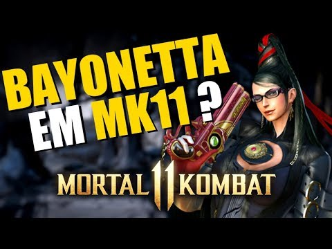 BAYONETTA EM MORTAL KOMBAT 11? thumbnail