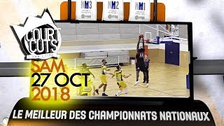 Top 10 CourtCuts FFBB du 27 Octobre 2018 | Pluie de blocks assassins
