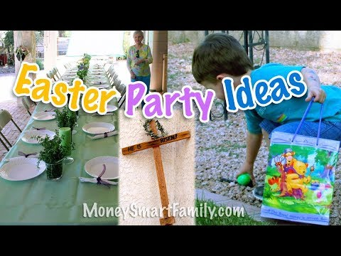 Active Easter time Party Activities and games