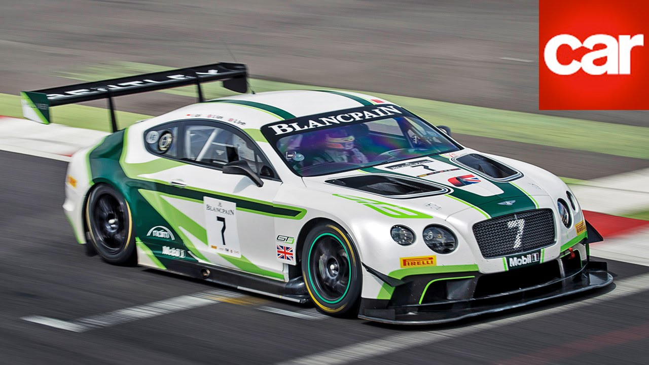 2016 Bentley Continental GT3 Review: A Two Tonne GT, Stripped Down For  Action. CAR Magazine