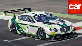 Bentley Continental GT3 Race Car 2014 Videos
