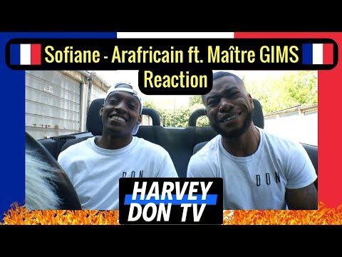 Sofiane - Arafricain Ft. Maître GIMS Reaction Harvey Don TV
