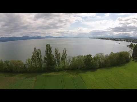 Dji phantom 2 vision + Lac Léman
