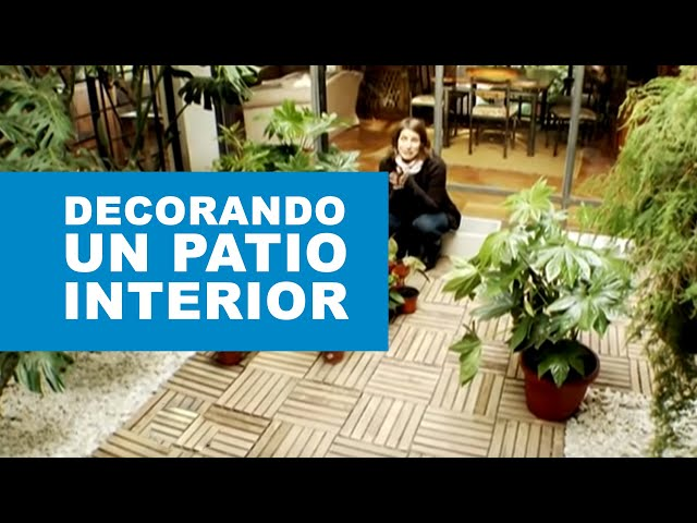 Cómo decorar un patio interior?   youtube