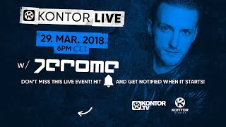 EASTER STARTS NOW - Jerome is ready for Kontor Live #70