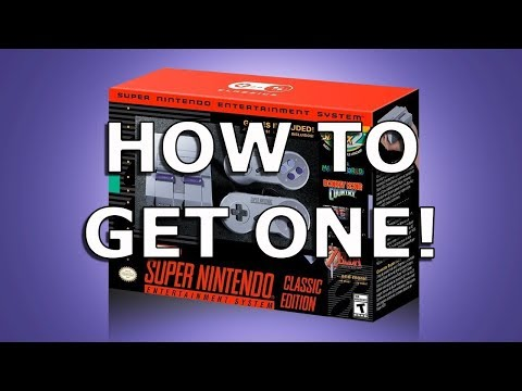 How to Get a SNES Classic on Launch Day!