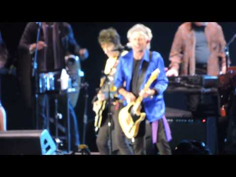 The Rolling Stones Keith Richards Before They Make Me Run at Petco Park 2015