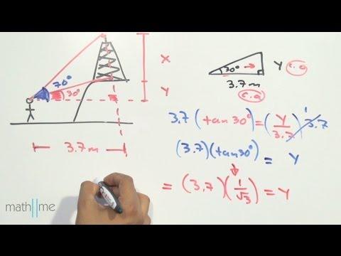 ángulos De Elevación Y Depresión Problema 2