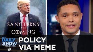 Video Trump Tweets a Meme at Iran & India Erects a Record-Breaking Statue | The Daily Show download MP3, 3GP, MP4, WEBM, AVI, FLV November 2018