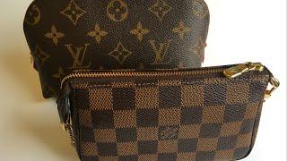 Louis Vuitton Cosmetic Pouch vs  Mini Pochette (Comparison)